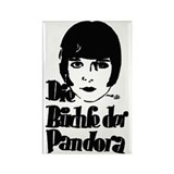 Cool Louise brooks society Rectangle Magnet