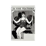 Unique Louise brooks society Rectangle Magnet