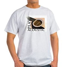 Play Acoustic Ash Grey T-Shirt