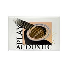 Play Acoustic Rectangle Magnet