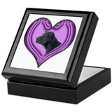 Shar Pei Heart Keepsake Box