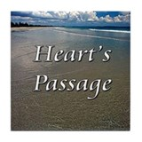 Heart's Passage Tile Coaster