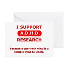 Support ADHD Research Greeting Cards (Pk of 10