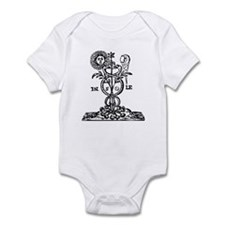 Caduceus Alchemy Symbol Infant Bodysuit