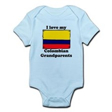 I Love My Colombian Grandparents Body Suit