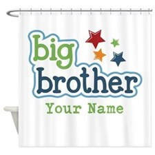 Personalized Big Brother Shower Curtain