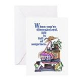 Disorganized Blank Greeting Cards (Pk of 10)