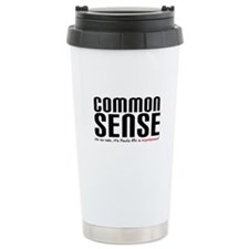 Common Sense Superpower Travel Mug