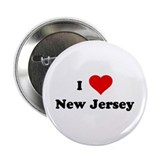 I Love New Jersey Button