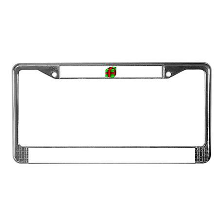 Gift License Plate Frame