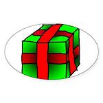 Gift Oval Sticker