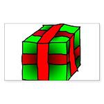 Gift Rectangle Sticker