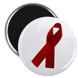 "AIDS AWARENESS RIBBON 2.25"" Magnet (100 pack)"