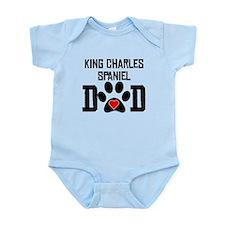 King Charles Spaniel Dad Body Suit