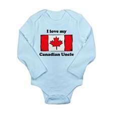I Love My Canadian Uncle Body Suit