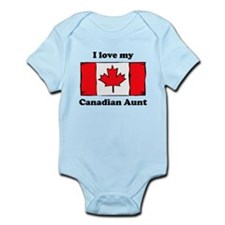 I Love My Canadian Aunt Body Suit