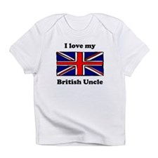 I Love My British Uncle Infant T-Shirt