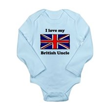 I Love My British Uncle Body Suit