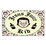 Jesus Juice Rectangle Sticker