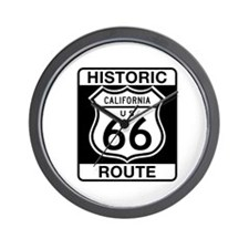 Historic Route 66 - USA Wall Clock