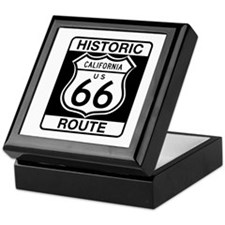 Historic Route 66 - USA Keepsake Box