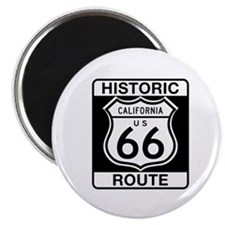 "Historic Route 66 - USA 2.25"" Magnet (10 pack)"