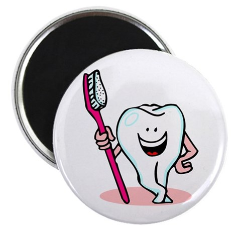 Happy Toothbrush Dentist / Dental Hygienist 2.25""