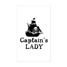 Captains Lady Decal