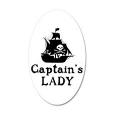 Captains Lady Wall Decal