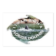 ...Florida Dolphin... Postcards (Package of 8)