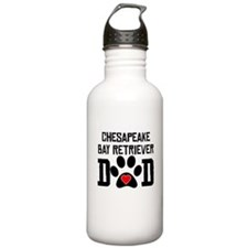 Chesapeake Bay Retriever Dad Water Bottle