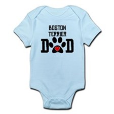 Boston Terrier Dad Body Suit