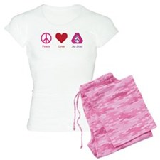 Peace, Love, BJJ 02 Pajamas