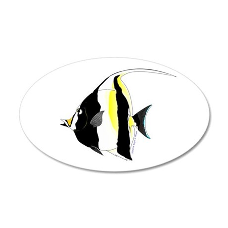Moorish Idol Wall Decal