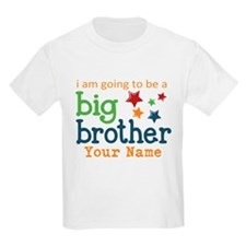 I am going to be a Big Brother Personalized T-Shirt