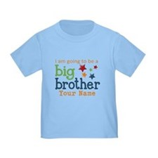 I am going to be a Big Brother Personalized Toddle