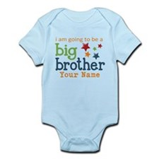 I am going to be a Big Brother Personalized Onesie