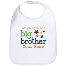 I am going to be a Big Brother Personalized Bib