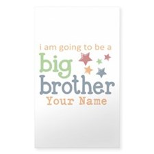 I am going to be a Big Brother Personalized Sticke