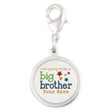 I am going to be a Big Brother Personalized Silver