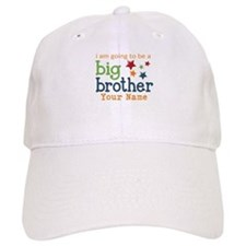 I am going to be a Big Brother Personalized Baseball Cap