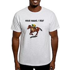 Custom Race Horse T-Shirt