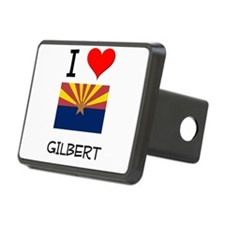 I Love Gilbert Arizona Hitch Cover