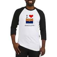 I Love Maricopa Arizona Baseball Jersey