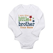 I am the Little Brother Onesie Romper Suit