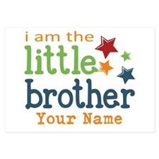 I am the Little Brother 3.5 x 5 Flat Cards