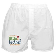 I am the Little Brother Boxer Shorts