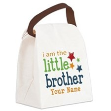 I am the Little Brother Canvas Lunch Bag