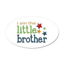 Little Brother Oval Car Magnet