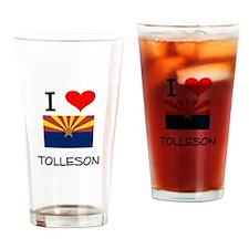 I Love Tolleson Arizona Drinking Glass